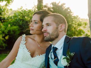 O casamento de Alexandra e Bastien