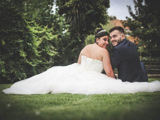 O casamento de Cláudia e Marco