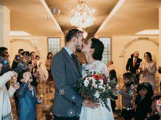 O casamento de Silvia e Marco