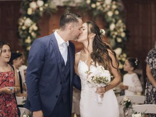 O casamento de Elsa e Nicolas