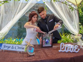 O casamento de Cíntia e Jorge