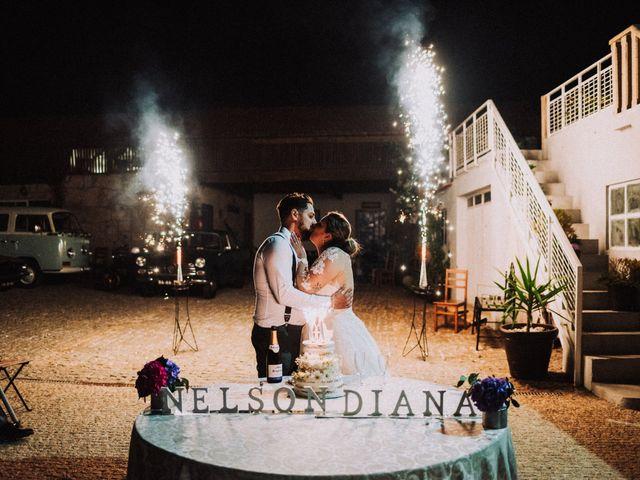 O casamento de Diana e Nelson