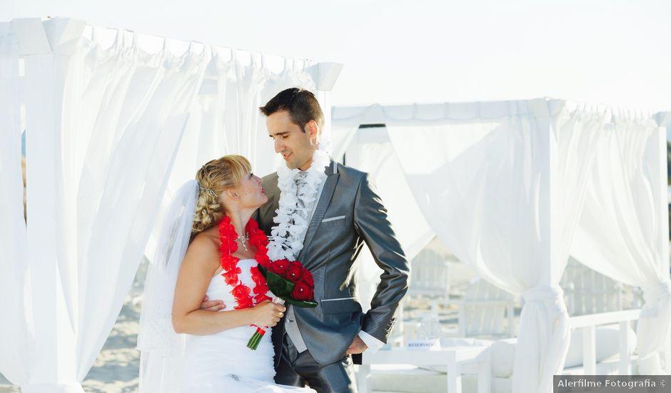 O casamento de Carlos e Paula em Costa de Caparica, Almada