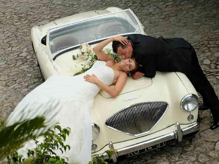 O casamento de Céline e David