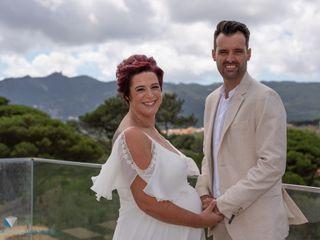 O casamento de Carla e Luís