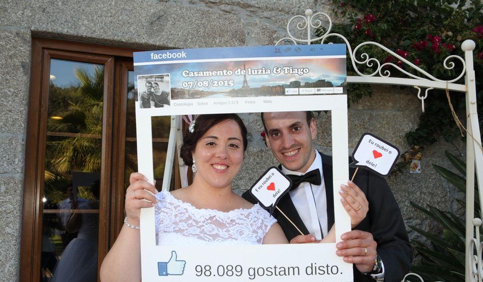 O casamento de Tiago e Luzia em Santo Tirso, Santo Tirso