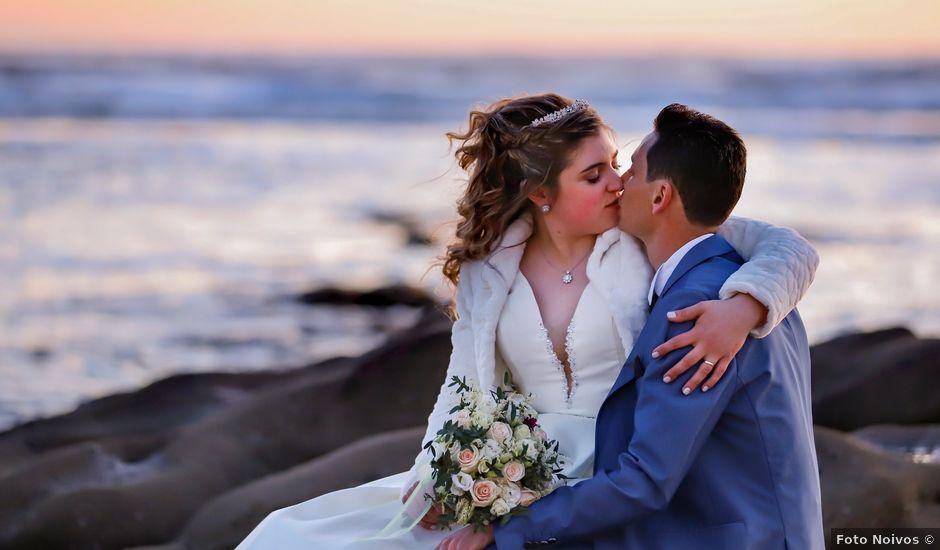 O casamento de João e Cristiana em Gesteira, Soure