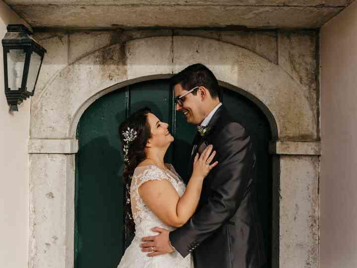 O casamento de Cristiana e Cristiano