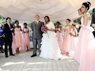 O casamento de Naila e Stewart