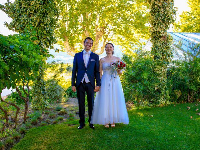 O casamento de Michèle e André