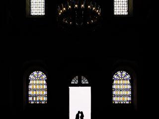 O casamento de Olga e Davide