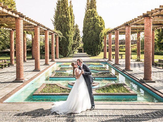 O casamento de Cristina e Alexandre