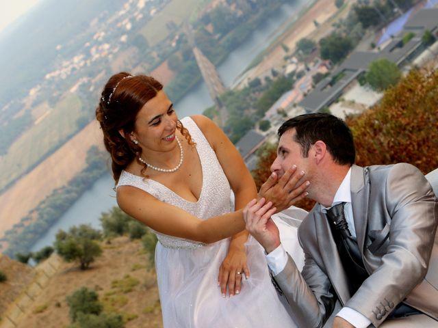 O casamento de André e Ligia em Tramagal, Abrantes 1