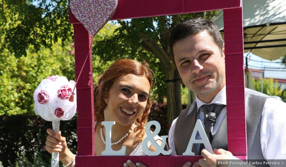 O casamento de André e Ligia em Tramagal, Abrantes