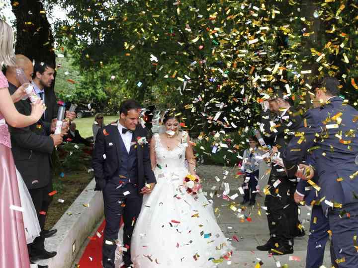 O casamento de Cristiana e Ricardo
