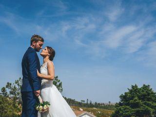O casamento de Isabel e Lee