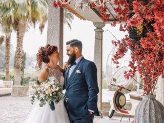 O casamento de Vera e Zé Pedro