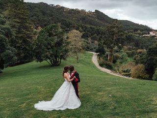 O casamento de Megan e Hal