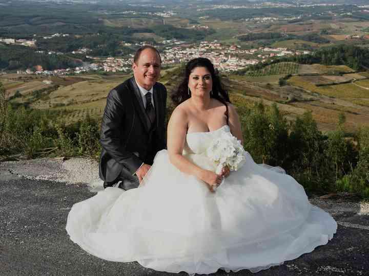 O casamento de Magnólia e Vicente