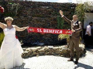 O casamento de Ondina e João