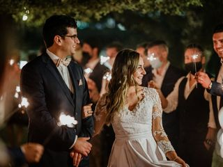 O casamento de Mélanie e Pedro