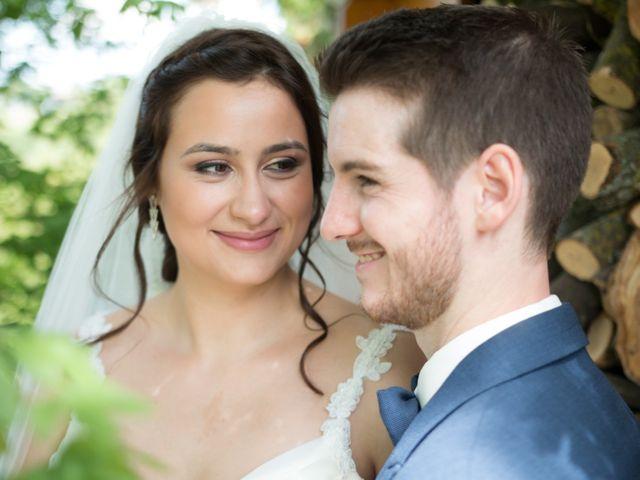 O casamento de Melanie e Antoine