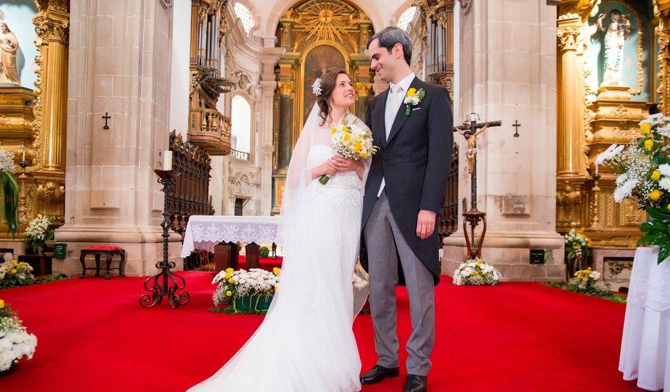 O casamento de Luciano e Ema em Lamego, Lamego
