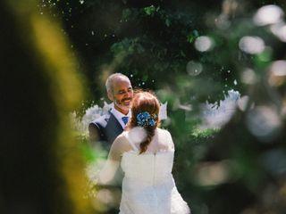 O casamento de Justina e Carlos