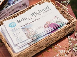 O casamento de Rita e Richard 1