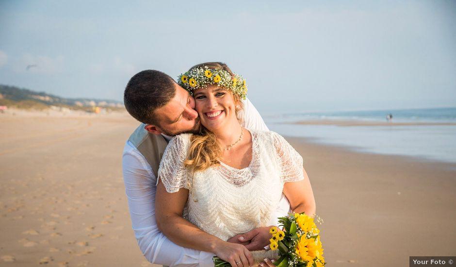 O casamento de Francisco e Rita em Costa de Caparica, Almada