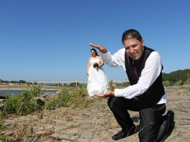 O casamento de André e Carla em Fontes, Abrantes 2