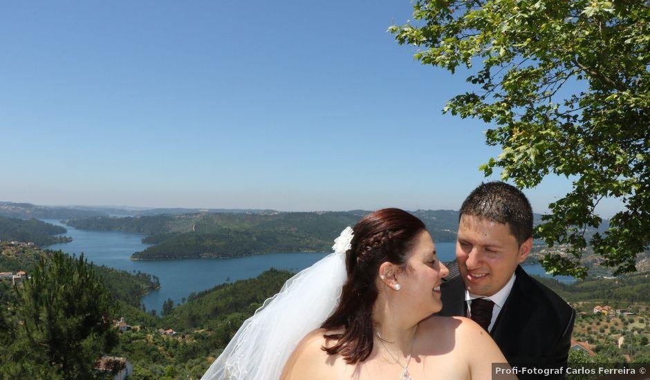 O casamento de André e Carla em Fontes, Abrantes