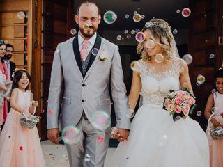 O casamento de Sandra e Carlos
