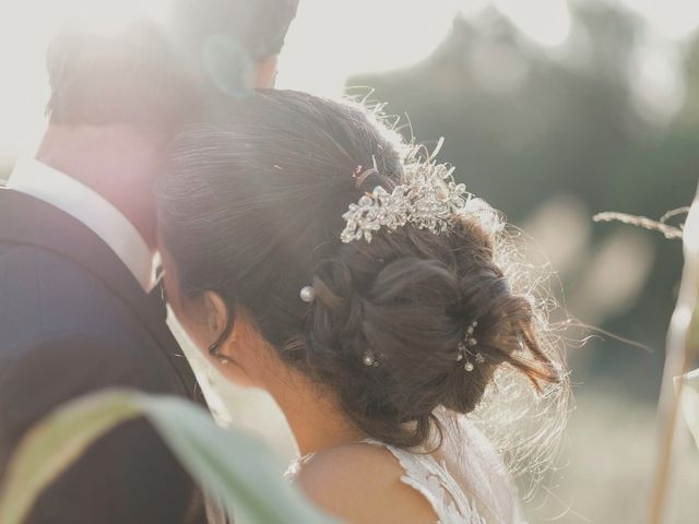 O casamento de Catarina e André