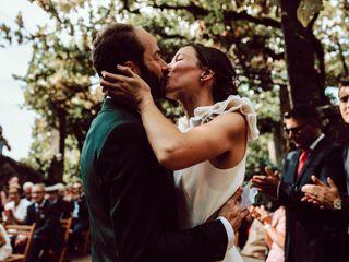 O casamento de Mathilde e Fred