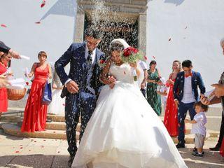 O casamento de Angélica e Nuno