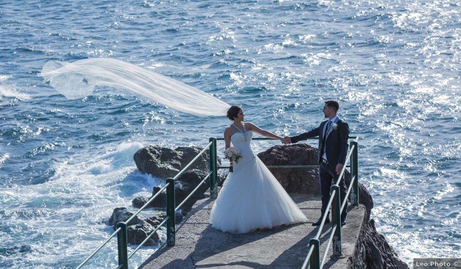 O casamento de Alberto e Cristina em Funchal, Madeira