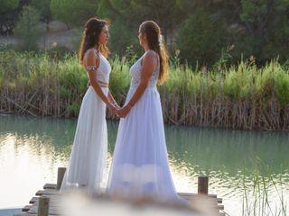 O casamento de Lúcia e Vera