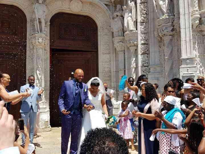 O casamento de Paula e Hélder