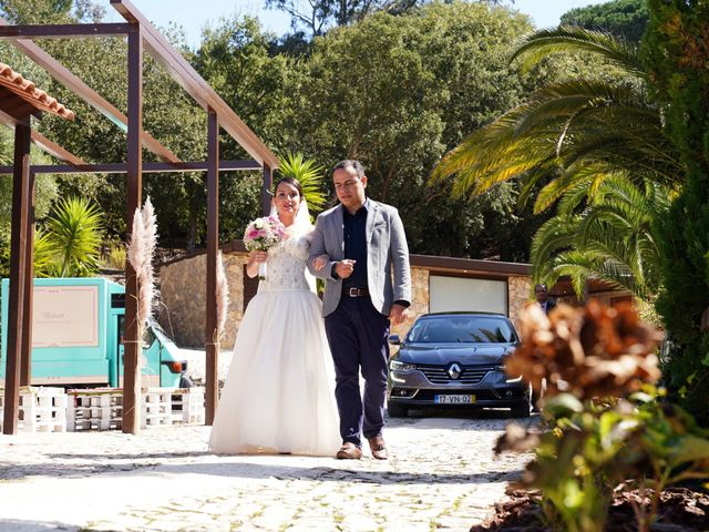 O casamento de Caio e Nina em Almornos, Sintra 18
