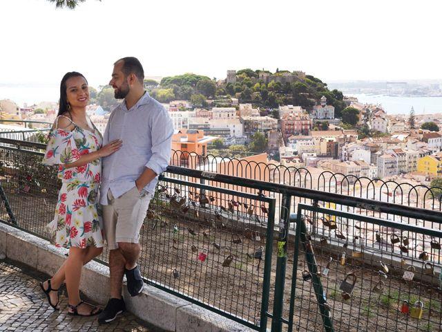 O casamento de Caio e Nina em Almornos, Sintra 77