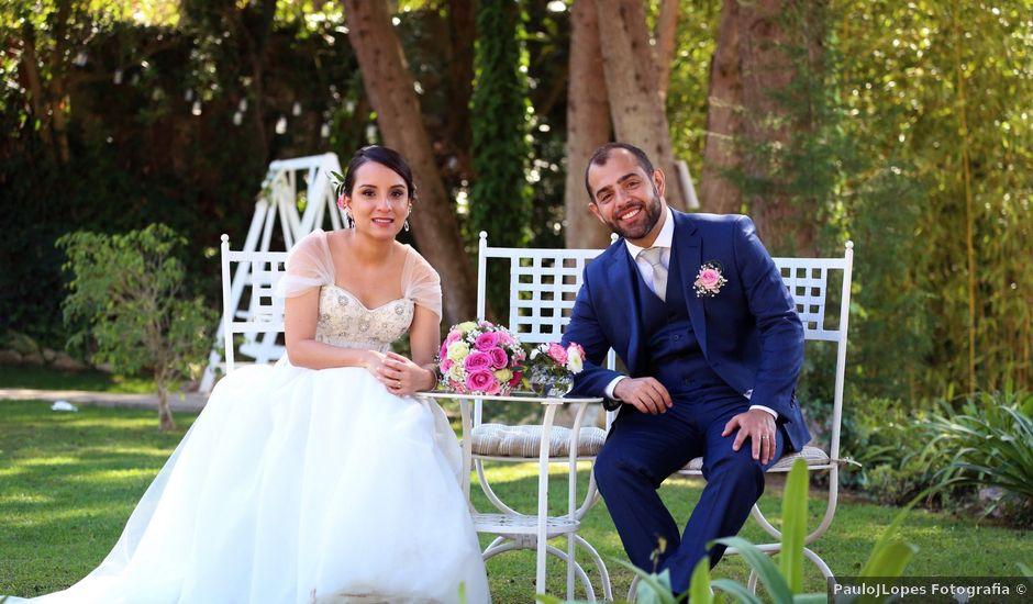 O casamento de Caio e Nina em Almornos, Sintra