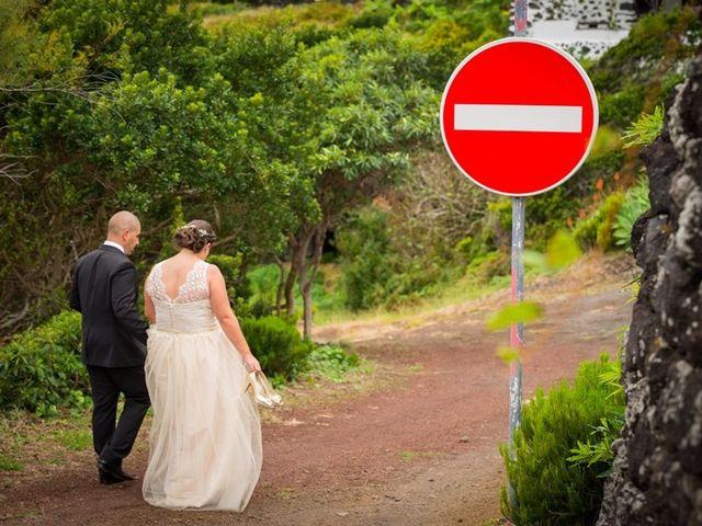 O casamento de Hugo e Susana em Lajes do Pico, Pico 36