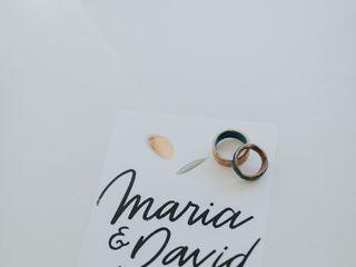 O casamento de Maria e David 1