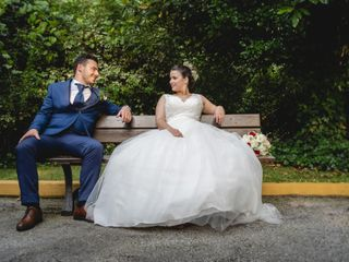 O casamento de Mariana e Leonardo