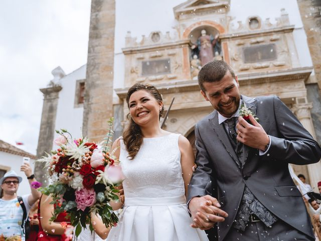 O casamento de Marcelo e Marcela em Óbidos, Óbidos 11