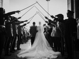 O casamento de Maria e Raul