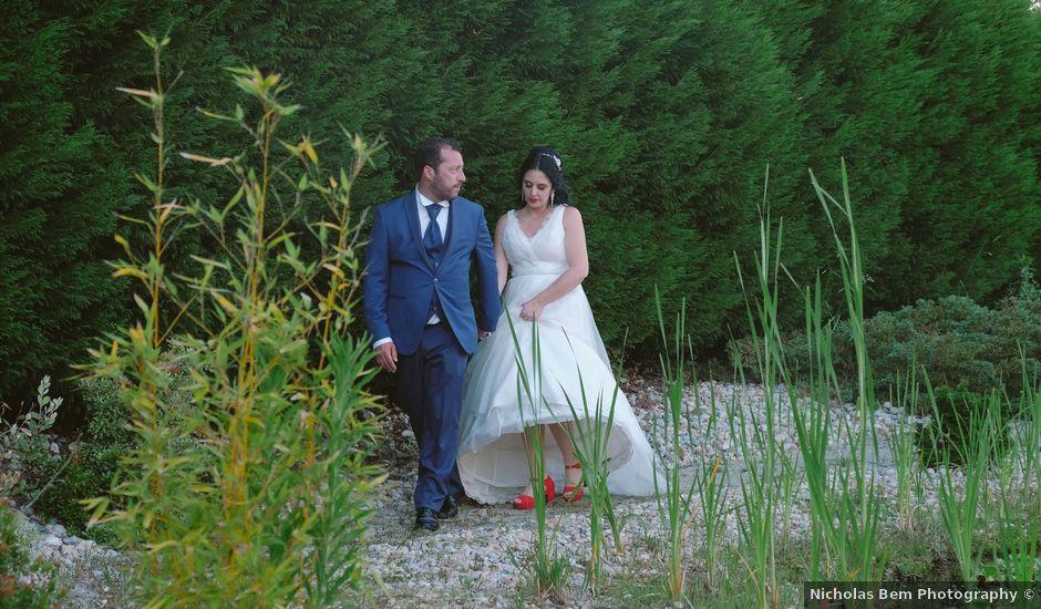 O casamento de André e Anabela em Nazaré, Nazaré