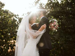 O casamento de Rafaela e Luís