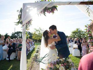 O casamento de Larissa e Andreas